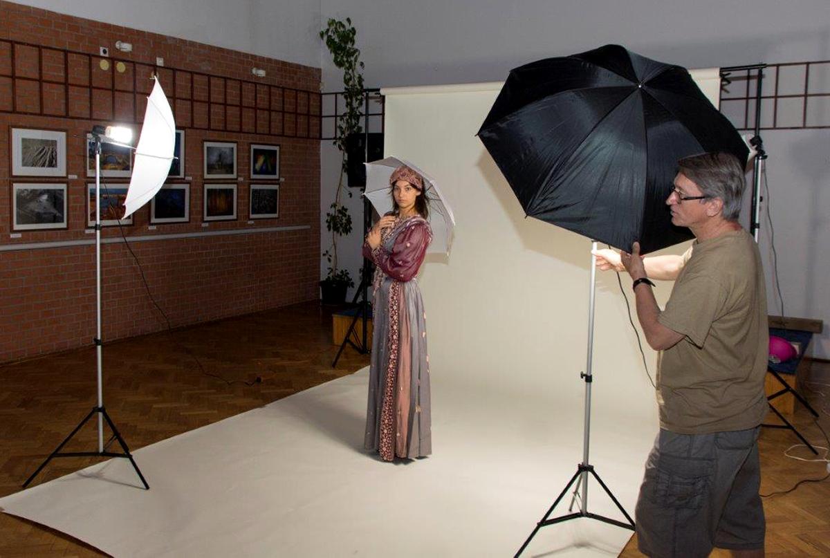 Stúdió fotózás